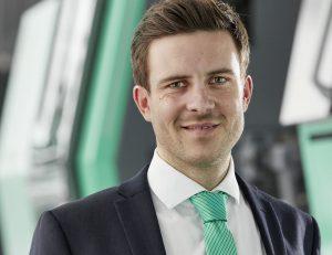 Bertram Stern, Sustainability Manager, ist stolz auf die CDP-Wertung. (Bild: Arburg)