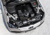 Der Frontendträger im SUV Mercedes-Benz GLE besteht aus zwei verschweißten Verbund-Halbschalen, die ausgehend von Tepex dynalite 104-RG600(3)/47% hergestellt werden. Die verstärkenden Glasfaser-Rovings verleihen dem Bauteil einen sportlichen Look mit carbon-ähnlicher Anmutung.  Bildquelle: Mercedes-Benz