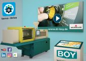 Digitale Boy 60 E auf der virtuellen Hannover Messe. (Bild: Dr. Boy)