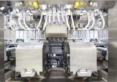 Blick in den Edelstahl-Blasbereich für die Reinraumproduktion Klasse C  (Bild: Bekum)