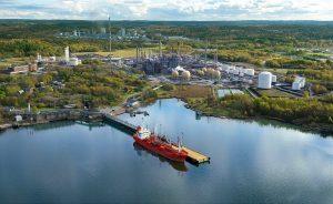 Am Produktionsstandort Stenungsund soll im Jahr 2024 eine chemische Recyclinganlage in Betrieb gehen. (Bild: Borealis)