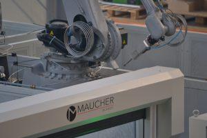 Die Wasserstrahlschneide-Anlage war die erste bei Maucher umgestzte CNC-Fertigungszelle.  (Bild: Maucher)