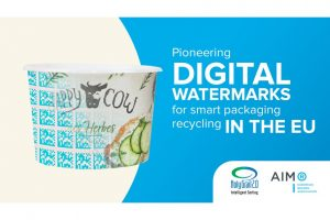 HolyGrail 2.0: Digitale Wasserzeichen erleichtern das Sortieren. (Bild: AIM)