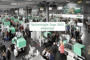 Aufgrund der aktuellen Rahmenbedingung wurden die für den 7. bis 12. Juni 2021 geplanten Technologie-Tage abgesagt. (Bild: Arburg)