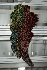 Das Kunstwerk wurde in einem 12 monatigen Arbeitsprozess erstellt. (Bild: FIT /Martin Hangen)