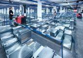 Die Lagerkapazität ermöglicht eine hohe Lieferverfügbarkeit. (Bild: Meusburger)