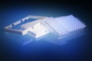 Produkt mit Lichtschutz für Analytik (Bild: Melitek)