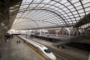 Bahnhofsüberdachung mit Exolo UV. Bild: Exolon