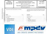 Experten von MPDV engagieren sich im Verein Deutscher Ingenieure (VDI) im Sinne der Normierung von Anforderungen an MES. (Bild: VDI, MPDV)
