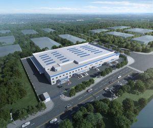 Die neue Anlage wird 9.300 m² groß und wird Compounds sowohl aus Neuware als auch aus recycelten Rohstoffen produzieren. (Bild: Polykemi)