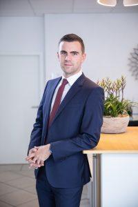 Steve Büchner, Vertriebs- und Projektmanager bei Wickert Maschinenbau (Foto: Wickert).