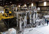 Die Polystyrol-Recycling-Anlage von Agilyx in Tigard im US-Bundesstaat Oregon. (Bild: Agilyx)