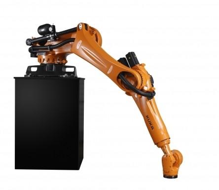 Die Konsolroboterserie  Quantec umfasst elf Typen in den zwei Produktlinien K prime und K ultra. Bild: Kuka Roboter