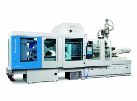 In Halle A7 produziert eine der größten elektrischen Maschinen technische Teile.