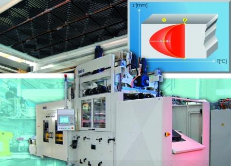 Universal-Formmaschine der Baureihe UA-g von Illig Bild: Illig