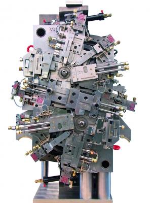 Komplexe Form für thermoplastische Kunststoffe (Bildquelle:  sk-werkzeugbau)