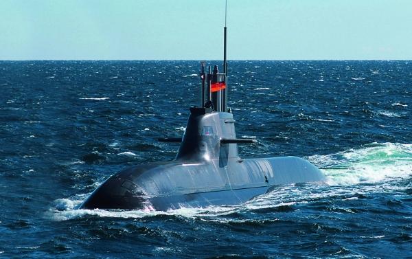 HDW wandte sich den Verbundwerkstoffen ursprünglich mit dem Ziel zu, das Gewicht zu reduzieren, eine bessere Bootsstabilität zu erzielen. (Bildquelle: HDW)