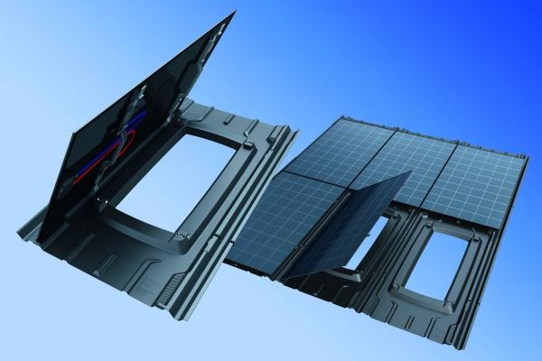 Die dachintegrierte leichte Designstudie kombiniert eine multifunktionelle Kunststoffwanne mit rahmenlosem Doppelglasmodul für große Dachflächen und ist einfach zu montieren. (Bildquelle:  BASF)