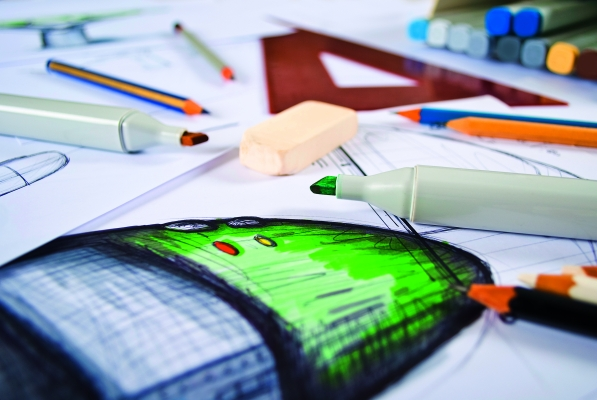 Design ist mehr als Kreativität.  Es erfordert eine geplante,  strukturierte und systematische  Herangehensweise, konsequente  und nachhaltige Umsetzung aller Arbeitsschritte aller Beteiligten. (Bildquelle: ©delux-Fotolia.com)