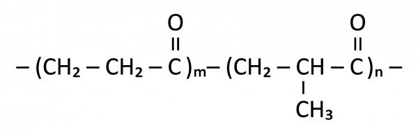 Chemische Formel Terpolymer Polyketon