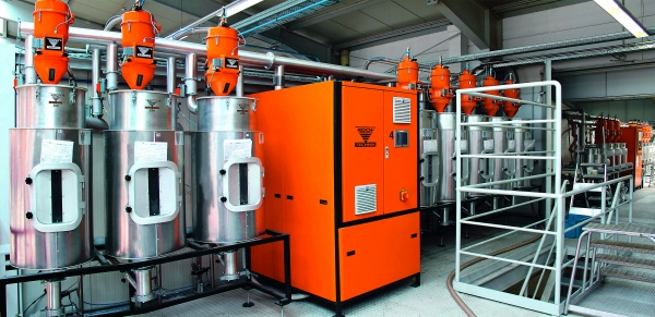 Taupunktsteuerung und Öko-Anlagensteuerung ermöglichen ein schonendes Trocknen bei hoher Energieeffizienz. (Bildquelle: Werner Koch Maschinentechnik)
