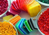 Farbe in den  Kunststoff bringen