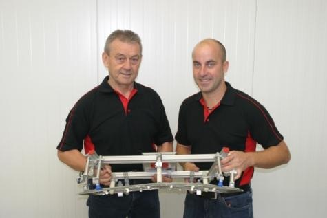 Franz und Marc Schwope leiten die Geschäfte ihres Unternehmens seit November gemeinsam. Bild: AGS
