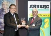 Arburg ehrt Lego-Group mit dem Energieeffizienz-Award 2011