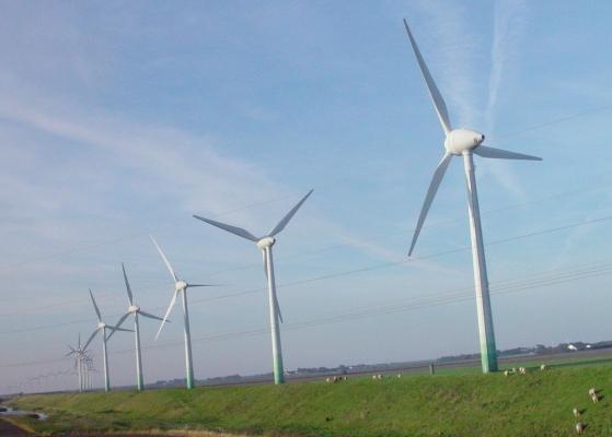 Die Zahl der installierten Windkraftanlagen steigt sprunghaft. Die Branche macht sich deshalb die kurzen Zykluszeiten faserverstärkter Thermoplaste bei der Herstellung von Rotorblättern zunutze.  (Bildquelle: Faserinstitut Bremen)