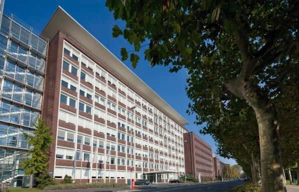 Die Leverkusener Zentrale von Bayer Material Science (Bildquelle: Bayer)