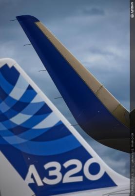 Airbus beauftragt Facc mit der Fertigung der Sharklets für die A320 Familie (Quelle: Airbus)