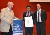 Deutsche Kautschuk-Gesellschaft: Förderpreis an Dr. Sandip Rooj