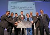BMW: CFK-Stackanlage nach Rekordbauzeit in Betrieb