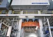 HP-RTM-Produktionslinie