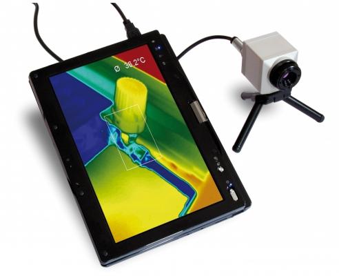 Die Thermo-Cam ist die dieLösung, um stationäre und sich bewegende Prozesse zu steuern und zu überwachen. (Bildquelle: B+B Thermo-Technik GmbH)