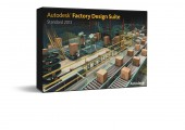 Simulationssoftware Autodesk Product Design Suite + Factory Design Suite