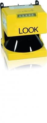 Der Laserscanner Look entspricht der Sicherheitsstufe Typ 3 und ist nach EN 61496-3 zertifiziert.  (Bildquelle: ABB Stotz-Kontakt GmbH )