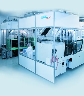 Reinraumsystem CleanFlowCell, ISO-Reinraumklasse 7 (Bildquelle: Schilling Engineering)