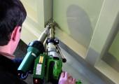Extruder + Warmgas-Schweißgeräte