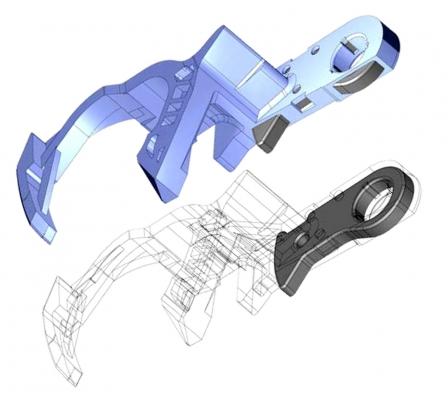 Gewichts- und kostenoptimierte Hybrid-Bauteile (Bildquelle: Lüttgens)