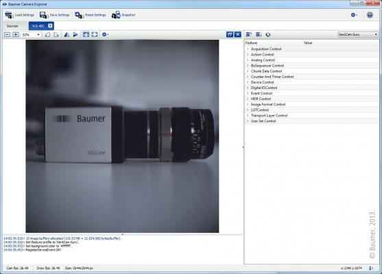 Zahlreiche Beispielprogramme und Dokumentationen unterstützen die Kameraintegration.  (Bildquelle: Baumer)