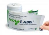 Etikett Recylabel