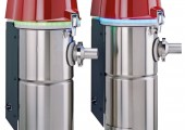 Granulat-Fördergerät
