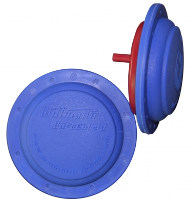 2K-Kosmetikzerstäuber aus PP/SEBS, hergestellt auf einer Mehrkomponenten-Spritzgießmaschine HM 180/525H/210S  (Bildquelle: Wittmann Battenfeld)