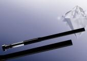 Verschleißfeste Flachauswerfer mit Eckradien und DLC-Beschichtung