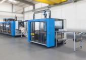 Vertikale Umfang-Stanztechnologie ermöglicht kerbenfreie Verarbeitung der Formteile
