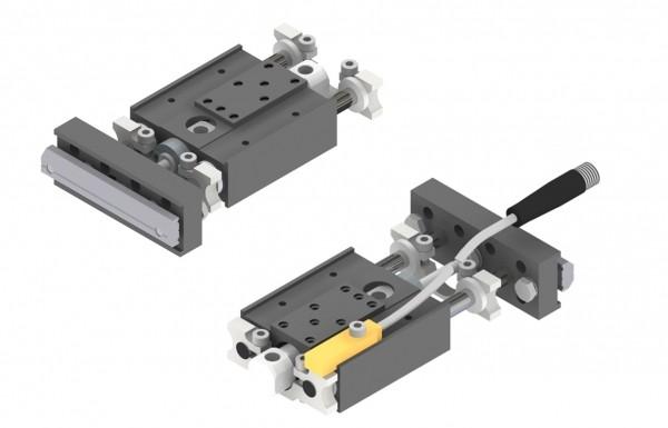 Miniaturhubeinheit mit einem Kolbendurchmesser von 10 mm. (Bildquelle: ASS Maschinenbau)
